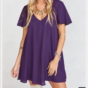 Purple Kylie Dress